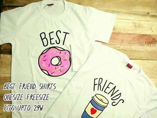 Bestfriend shirt freesize sold for two