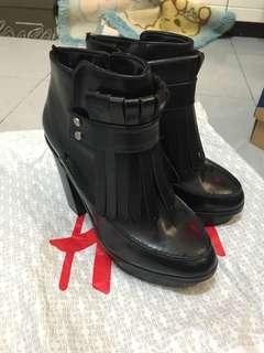 H&M 粗根boots