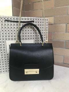 Furla Julia Top Handle - black