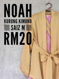 NOAH Pastel Kurung Kimono