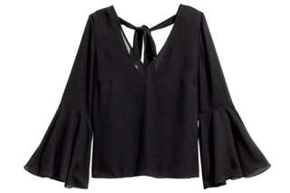 [REPRICED] H&M bell sleeve blouse