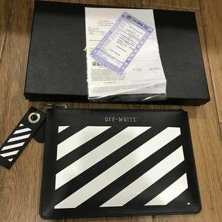 Offwhite cluth bag premium set