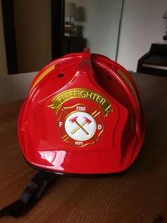 Fire fighter kids safety helmet