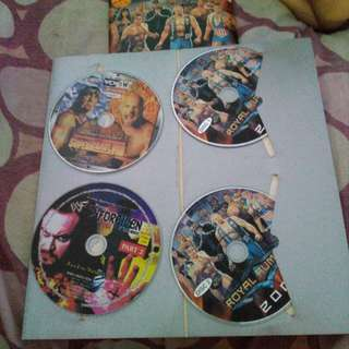 WWF WWE WCW ECW vcd collector (interested in buying yours)