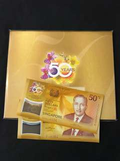 CIA $50 Commemorative Notes With Folder