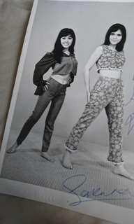 Signed photo 1960s