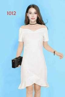 White dress (knee lenght)