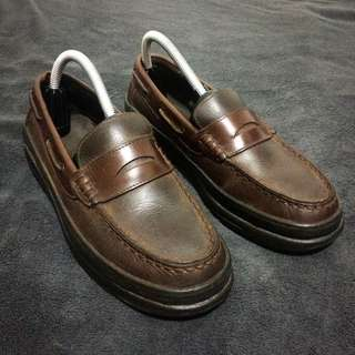 Bass Ketch Penny Loafers (Brown) for Men size US 7 M