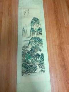 陈少梅山水图