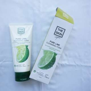 The Skin Rapha (The Skin Pure Lime Cleansing Foam)