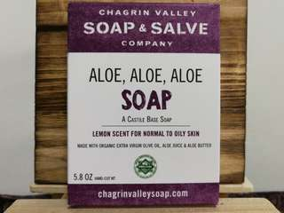 Soap Bar - Aloe, Aloe, Aloe