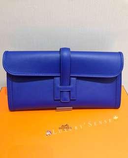 ✨全新 2018買入! 🦄Hermes✨⚡️Jige Bleu Electrique 7T 電光藍 Stamp A $24500