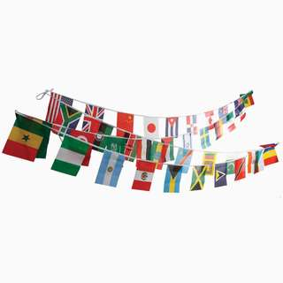 For World Cup 2018 Small flags Buntings Decoration