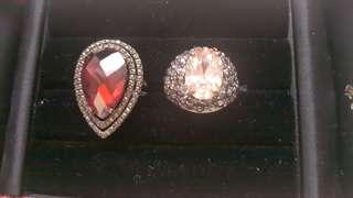 (每隻)極閃黑红、玫瑰金礦石介子