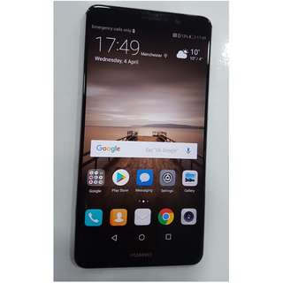 Huawei Mate 9 Black Edition Full set 4gb/64gb