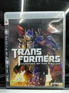PS3 變型金剛 Transformers Revenge of Fallens