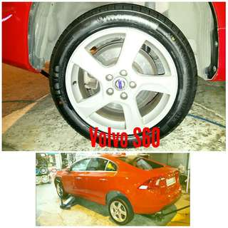 Tyre 215/50 R17 Membat on Volvo S60 🙋♂️ Price for reference only