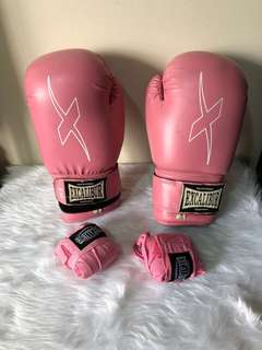 Excalibur Boxing Gloves with Wraps Included