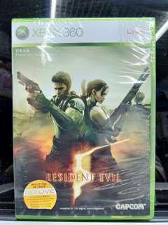 Xbox 360 Bio Hazard 5 惡靈古堡 5 全新