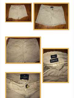American Eagle Faded Brown Shorts