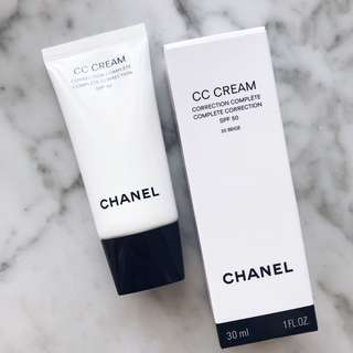(New) CHANEL CC Cream Correction Compléte SPF 50