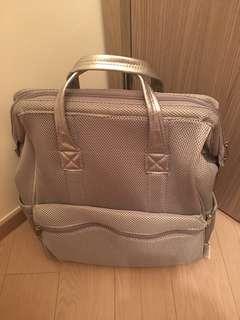 銀灰色型格韓國寵物袋
