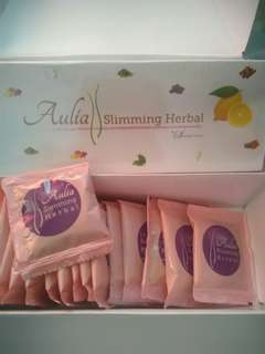 Aulia slimming herbal strong (pelangsing) by shandy aulia ecer