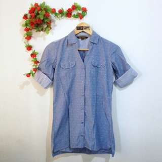 Freego Jeans Long Blouse