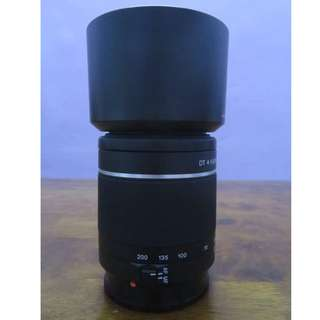 Sony a mount lens 18-55,55-200,like new