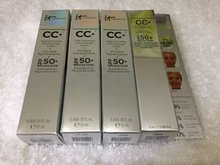 It Cosmetics Your Skin But Better CC Cream w/ SPF 50 (travel size)
