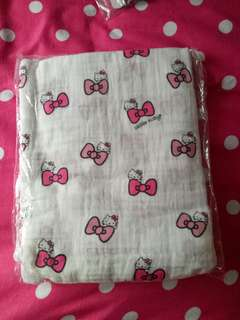 Baby Blanket swaddle kitty