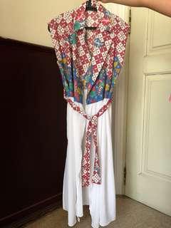 Vest batik (bisa juga jd dress panjang atau luaran)