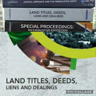 Land Titles and Deeds by Atty. Claridades