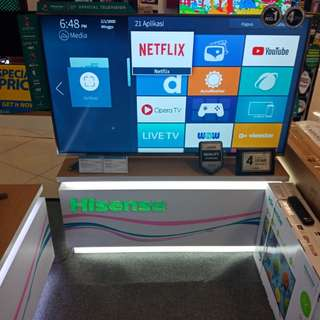 Hisense UHD Smart TV, bisa dicicil tanpa kartu kredit