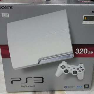 Preloved PS3 (White) - 320GB
