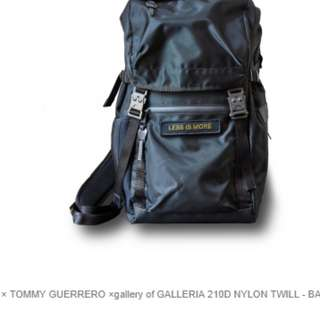 AS2OV × TOMMY GUERRERO ×gallery of GALLERIA 210D NYLON TWILL - BACK PACK