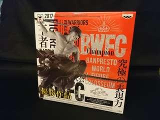 全新未開封 日版正貨金貼紙 BWFC 卓洛 索羅 ZORO 日本直送保證正貨