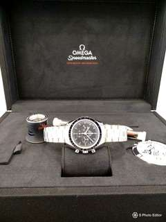Brand New 100% Authentic Omega SpeedMaster Professional First Omega on the Moon MoonWatch Sapphire Glass 311.30.42.30.01.006 Flight Certified  By NASA