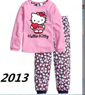 Hello Kitty Pyjamas for 1-5 yrs Old