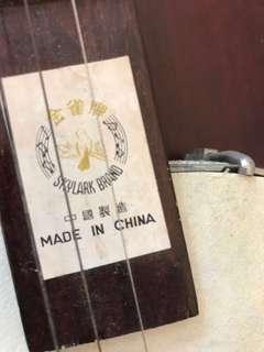 中式樂器-秦琴,敦煌二胡,小提琴