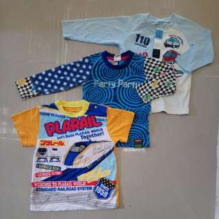 Baby clothes 3pcs for 100 only