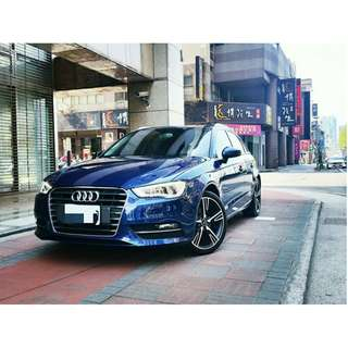 FB搜尋【阿彥嚴選認證車-Yencar】'12年Audi A3 30TFSI 藍、總代理、S-LINE、中古車、二手車、跑4萬