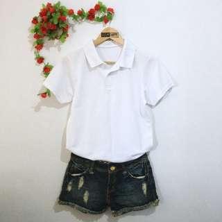 White Polo Shirt 02
