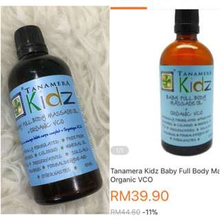 Tanamera kids Body Massage Oil