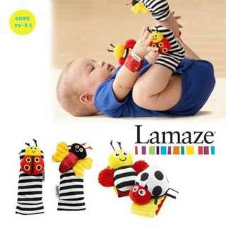 Lamaze Wrist and socks rattle set