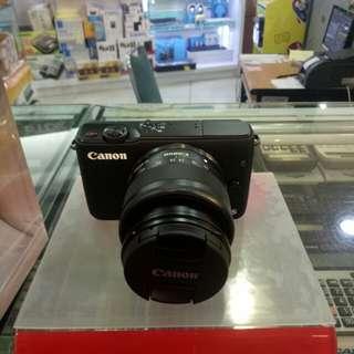 Canon M10 Bisa Kredit 0% Bunga & DP