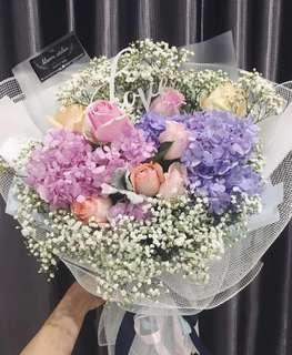 Hand Bouquet start from RM30
