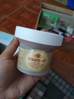 Skin food mask strawberry