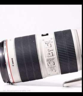 Rental Canon 70-200mm