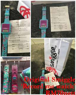 "Original Smiggle ""Record Me Watch"""